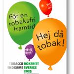 Hej då Tobak - affisch från Tobaksfria vecka 2014